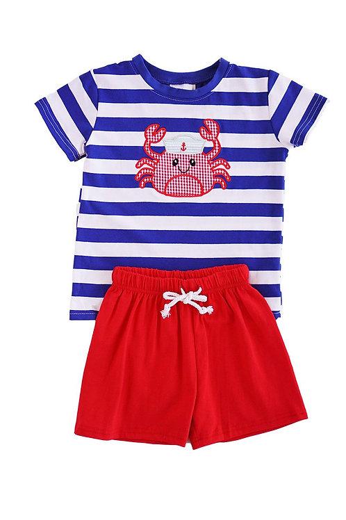Crab Sailor Outfit 2-piece