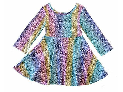 Multi Colored Sparkle Dress