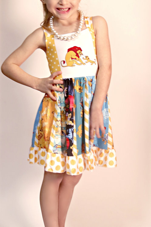 Lion King Twirl Dress