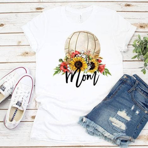 Volleyball Mom T-shirt Large