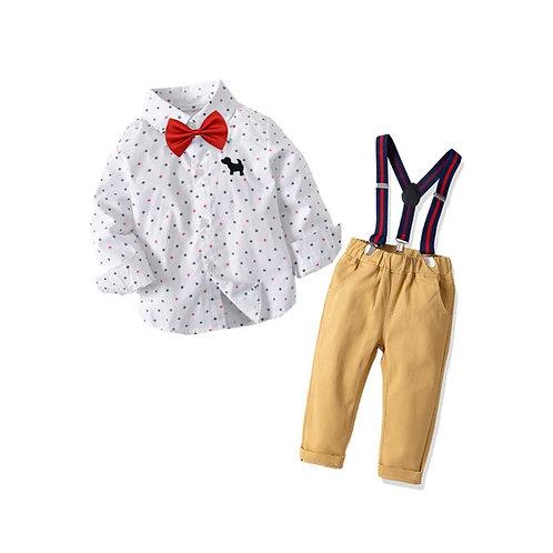 4-piece Little Boys Outfit.