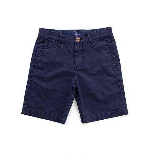 Navy Kai Twill Boys Shorts