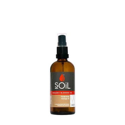 Organic Toning Massage Oil
