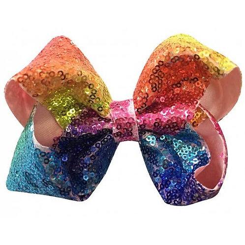 Small Confetti Sequin Bow