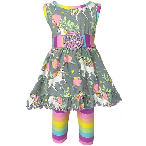 Unicorn Dress/Unicorn Leggings