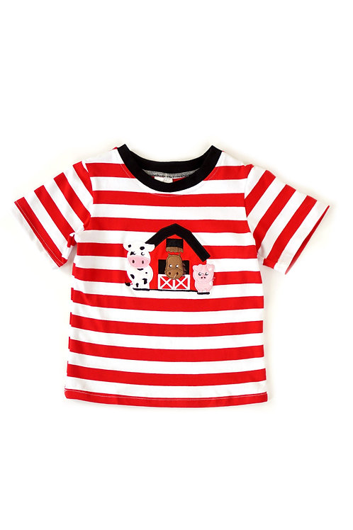 Boys Farm Shirt Size 5