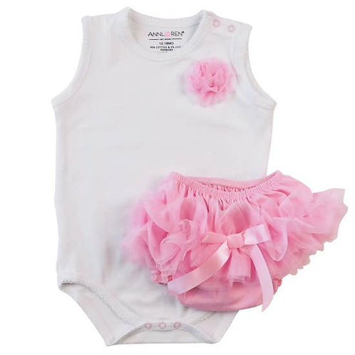 Bodysuit and Ruffle bloomers