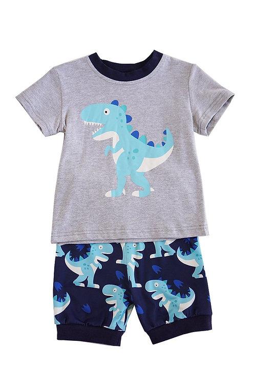 Dino Boys short set