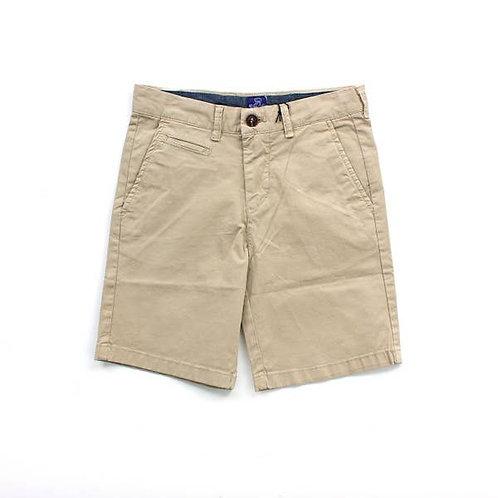 Tan Kai Twill Boys Shorts