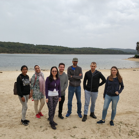 First lab outing (Lysterfield lake)