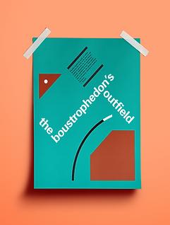 boustrophedon poster desmond kon joe chu