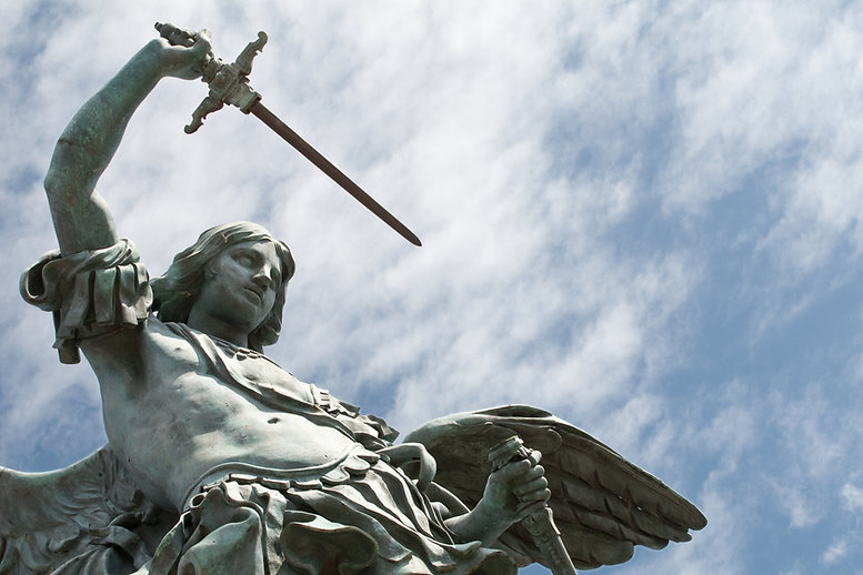 Atelier St Michael Statue.jpg