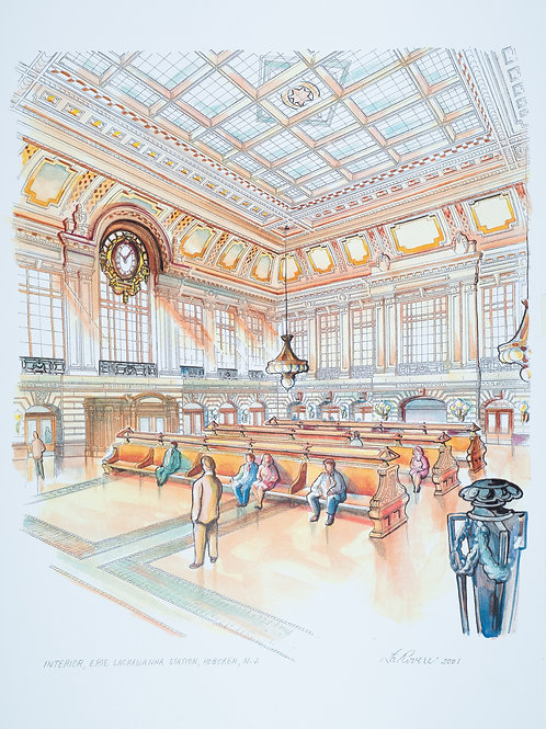 Interior Erie Lackawanna Station
