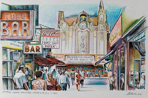 Journal Square Concourse 1967
