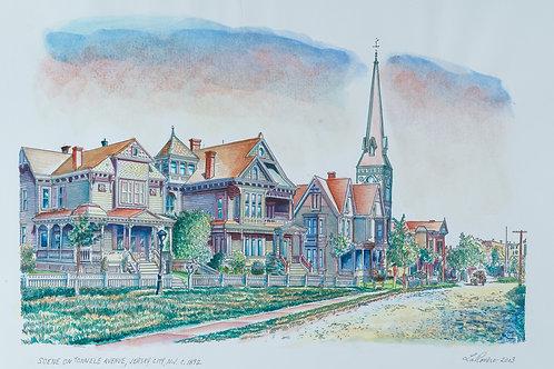 Scene on Tonnele Avenue 1892