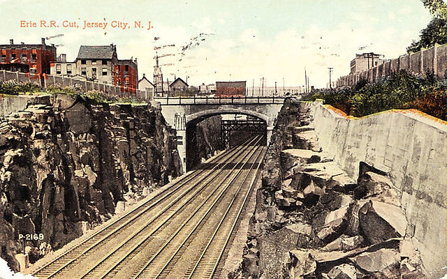 Postcard of the Bergen Arches