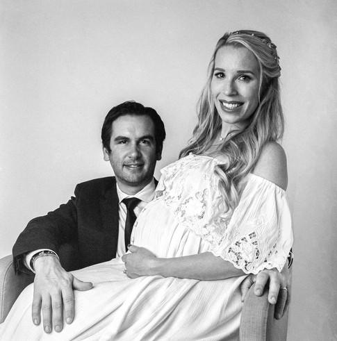 Mayor Steven Fulop and wife Jaclyn Fulop