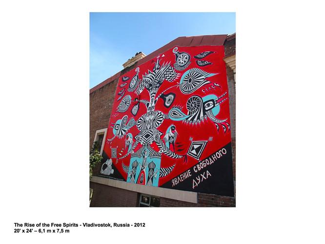 THE RISE OF THE FREE SPIRITS - VLADIVOSTOK 2012