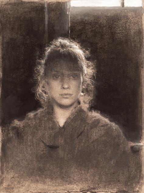 Amaya Gurpide  Self portrait