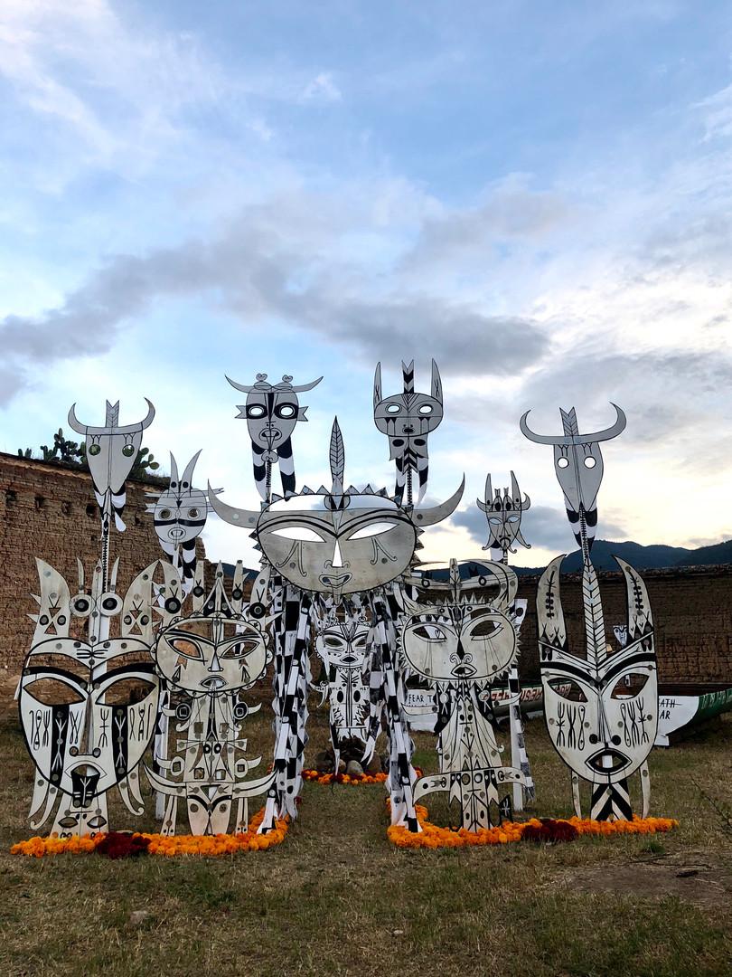 ART INSTALLATION - OAXACA 2018