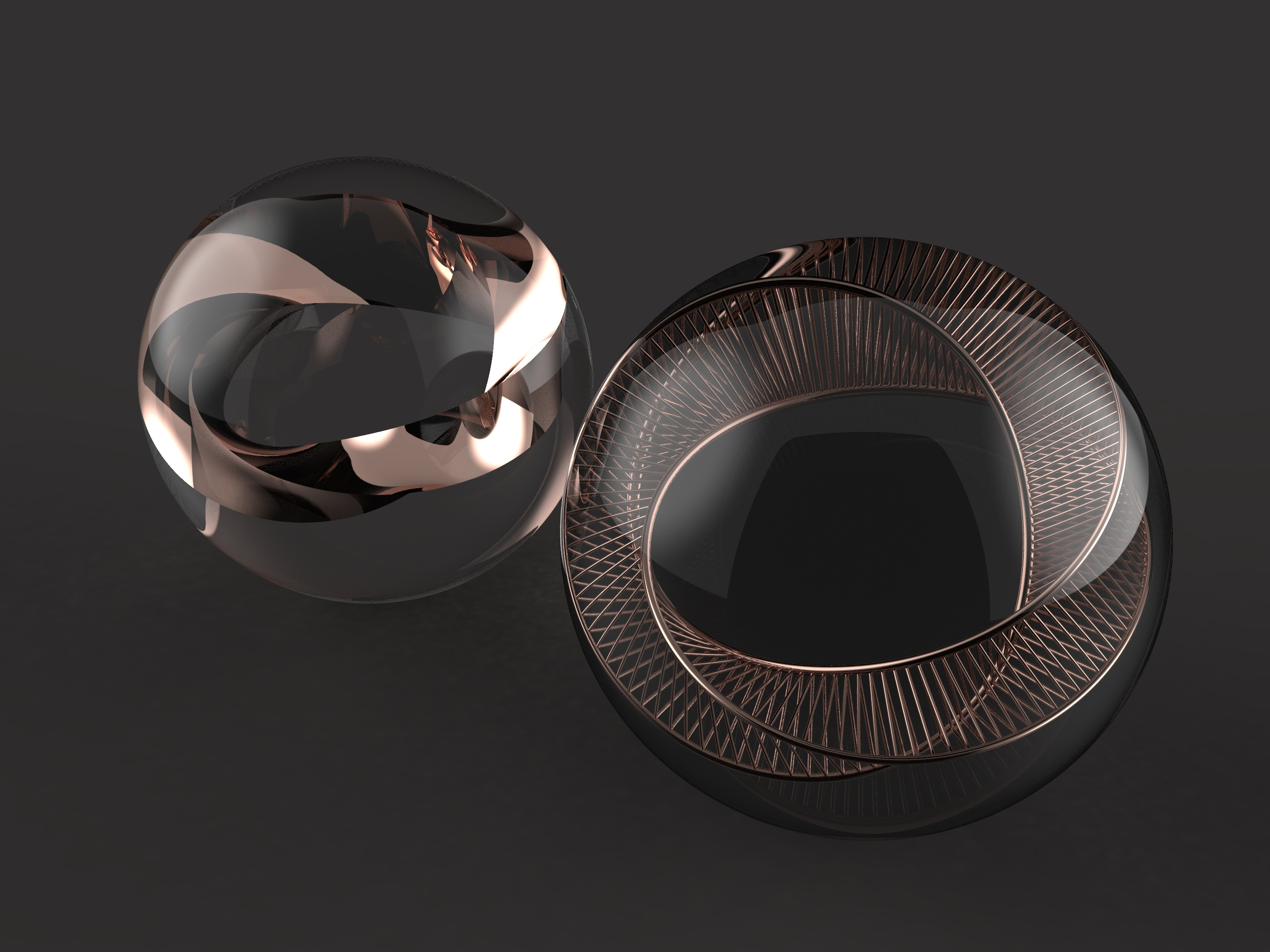 Acciaio Dolce Topology Jewelry Series