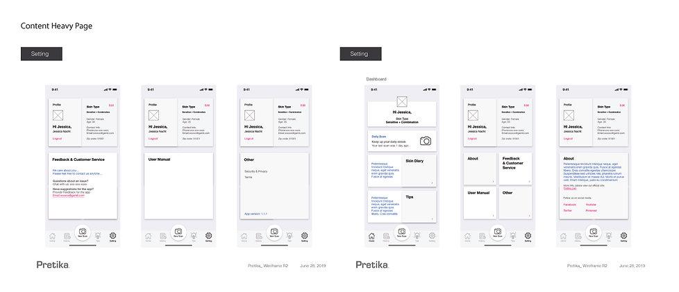 Pretika_App_Wireframe