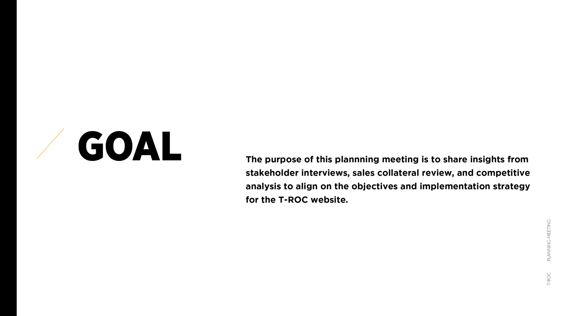 T-ROC_ PLANNING MEETING