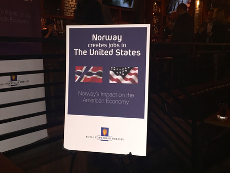 """Pre-launch of """"Norway Creates Jobs in the United States"""""""