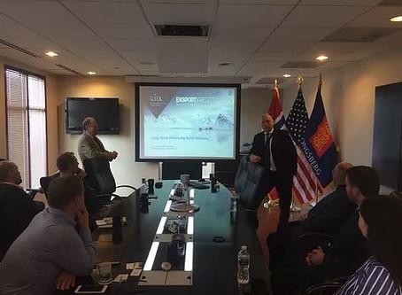 Export Credit Norway visits NADIC and NACCMA