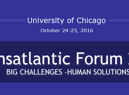 15th Annual Transatlantic Forum 2016 (Chicago Oct 24-25)