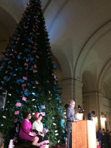 Christmas Tree Lighting Ceremony at Union Station, Washington DC