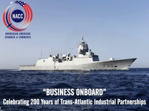 """""""BUSINESS ONBOARD"""" Industry Seminar and Reception on board His Norwegian Majesty's Ship Fridtjof Nan"""