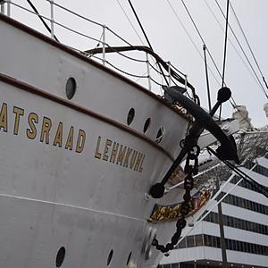 Reception at Norwegian Tallship HNoMS Statsraad Lehmkhul