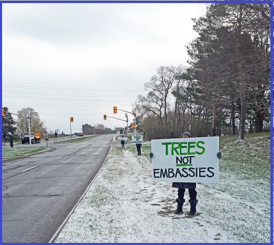 Earth Day 2021: Trees not Embassies