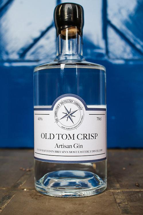 Old Tom Crisp - an Old Tom style Gin 70cl @ 40% ABV