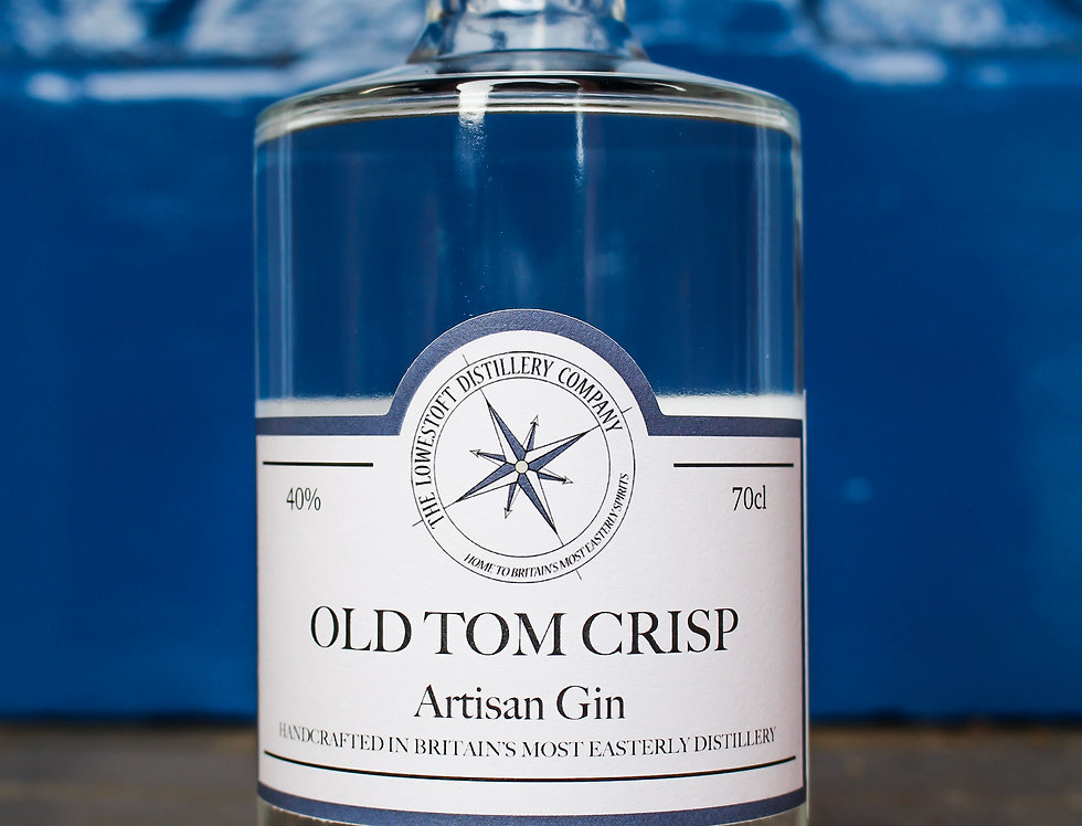 Old Tom Crisp - an Old Tom style Gin 70cl @ 40% ABV
