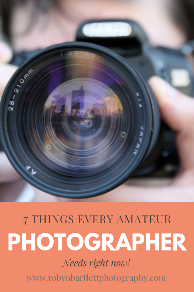 Amateur Photographer? You need these 7 things NOW