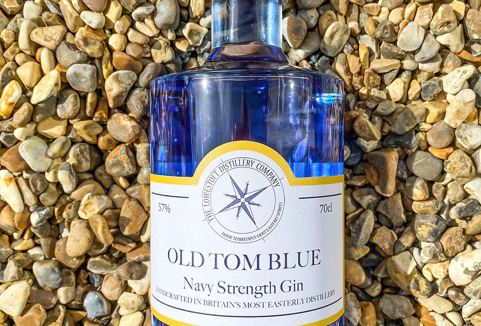 Old Tom Blue Navy Strength Gin 70cl @ 57% ABV
