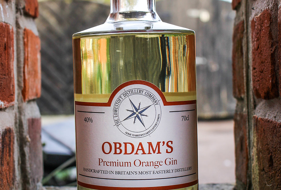 Obdam's Premium Orange Gin - 70cl @ 40% ABV