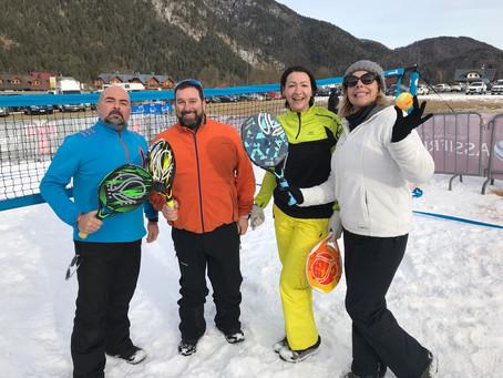 Terzo test dello SNOW TENNIS  by Tennistars