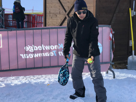 Quali scarpe per giocare a Snow Tennis?