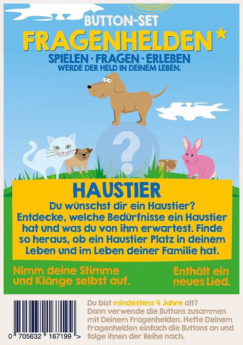 Haustier 10 Button