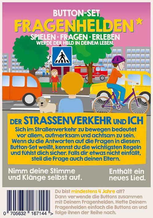 Straßenverkehr 10 Button
