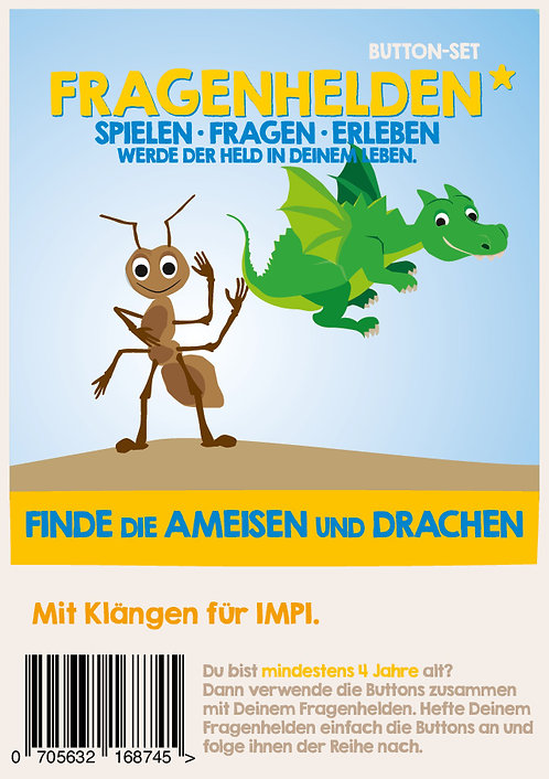Finde die Ameise und Drachen