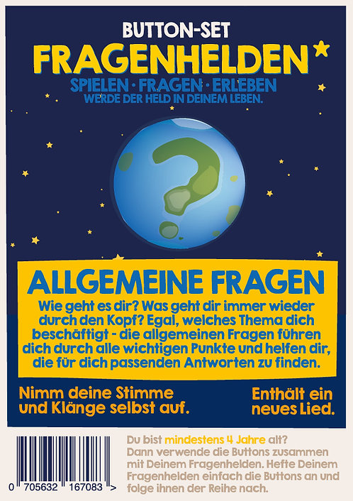 Allgemeine Fragen 10 Button