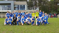 U13A en B teamfoto