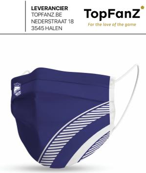 KSC's coole, gepersonaliseerde mondmaskers, dankzij TopFanz en Topmaskz.