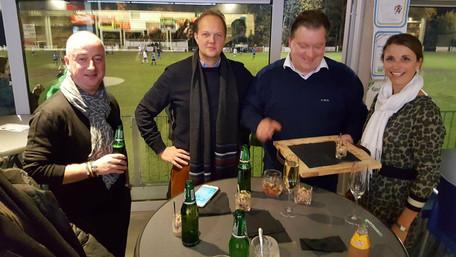 Bij voetbalclub KSC Keerbergen worden de sponsors verwend.