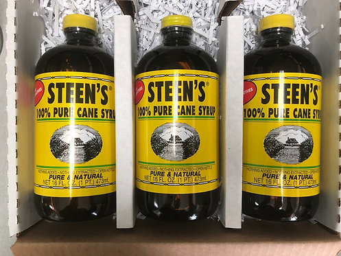 Pure Cane Syrup Set of 3