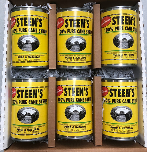 Pure Cane Syrup Six Pack Cans